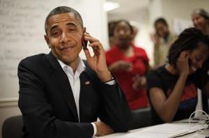 Barack Obama telefon