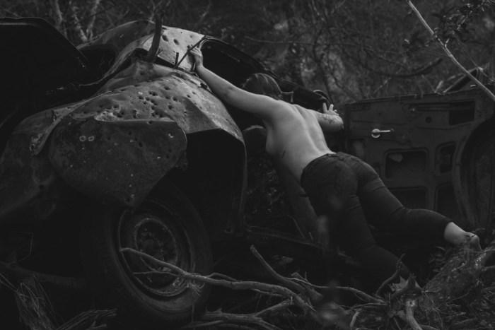 An Old Car by Isaiah Mancha