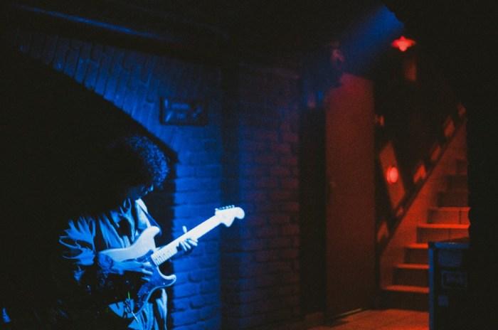 Winter Guitarist at Cross Club