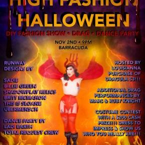 High Fashion Halloween: DIY Fashion Show | Drag | Dance Party!!!!!!