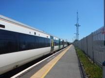 Arrival At Hampden Park Station