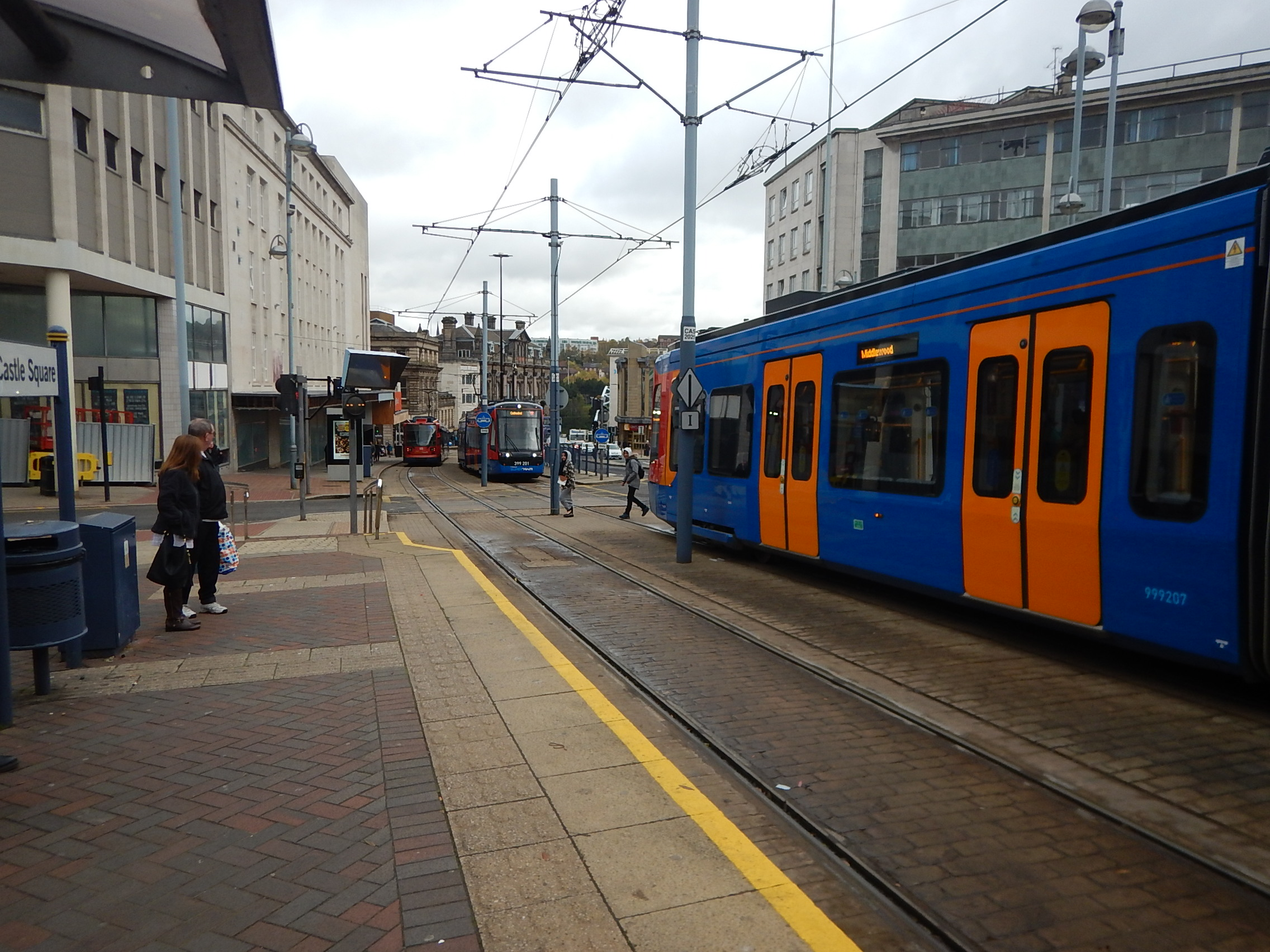 Is The Sheffield Rotherham Tram-Train Showing Signs Of London Overground Syndrome? « The Anonymous Widower