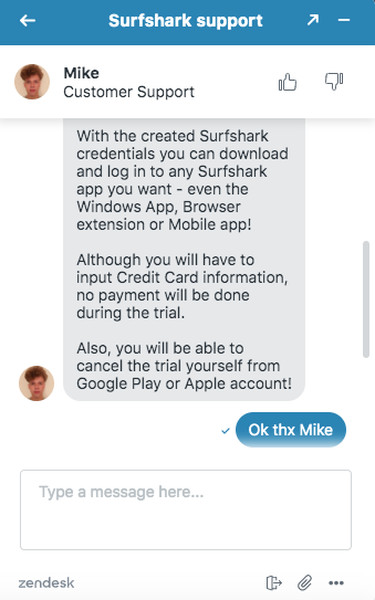 Surfshark Free Trial Answer