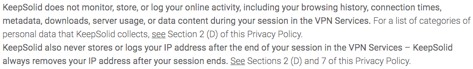 KeepSolid Privacy Policy