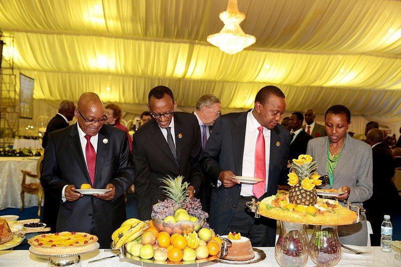 Paul Kagame ntiyigeze atuma Jacob Zuma ahumeka.