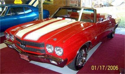1970.Chevrolet.Chevelle.Super.Sport.2-Door.Convertible.454