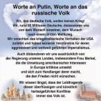 Worte an Putin