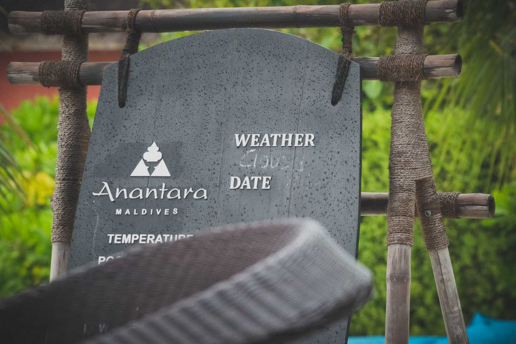 Anantara Maldives Weather report