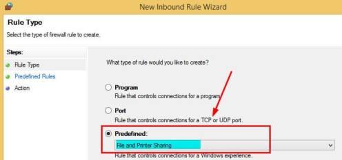 Windows Firewall Rule 6