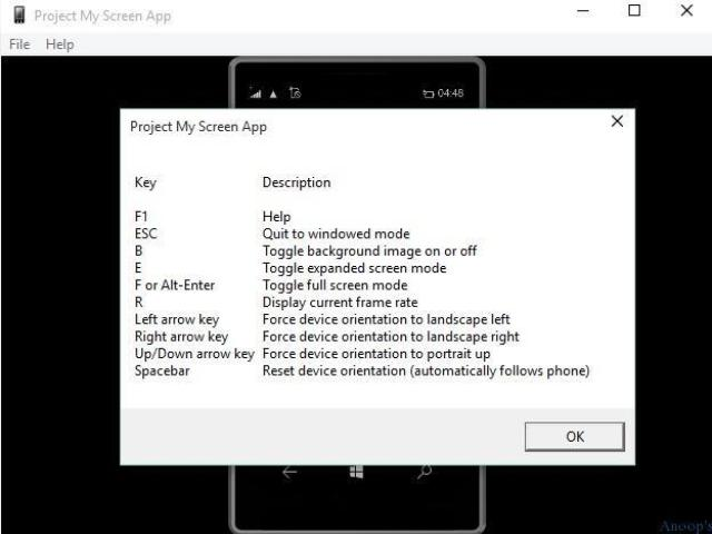 Project-Mirrior Mobile Device Screens to Windows Desktop 1