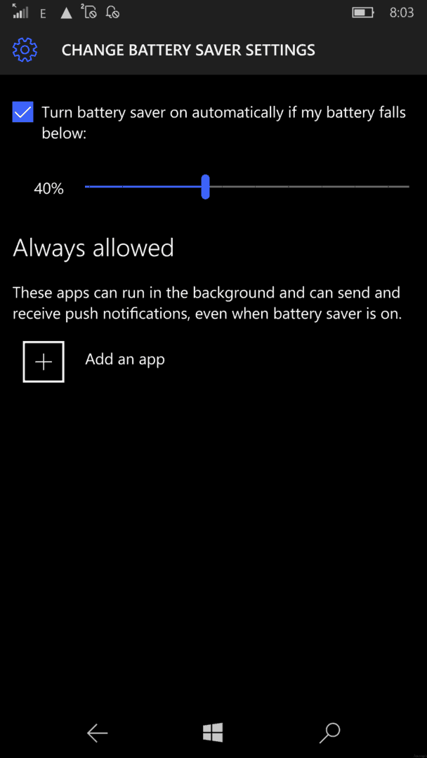 Windows 8 1 Set Battery Charge Level : Tips to improve windows mobile phone battery life