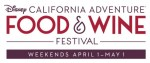 Disney California Adventure Food & Wine Fest Coming in April