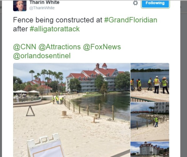 Fencing Grand Floridian