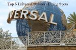 Foodie Friday: Top 5 Universal Orlando Dining Spots