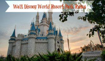 Do You Know the Walt Disney World Park Rules?