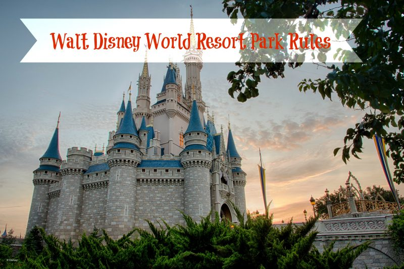 Walt Disney World Park Rules