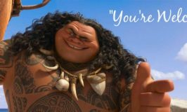 """Maui Sings """"You're Welcome""""! Have You Seen #Moana?"""