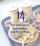 14 Best Quick Service Restaurants at WDW
