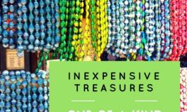Inexpensive Treasures ~ One-Of-A-Kind Beads from African Outpost in Epcot