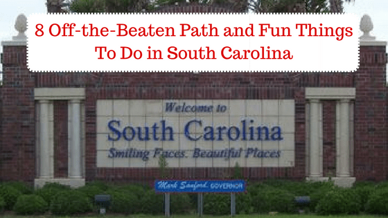 Off Beaten Path South Carolina