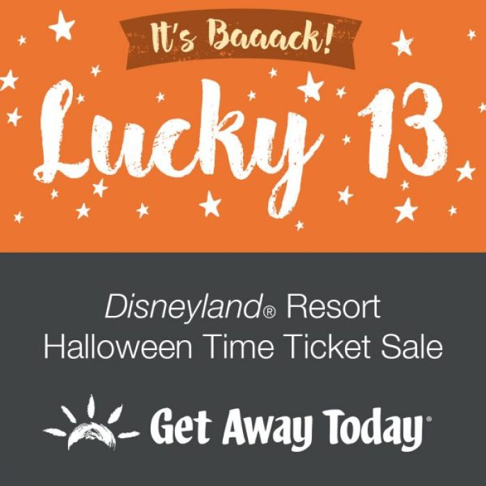Disneyland Halloween Time Tickets