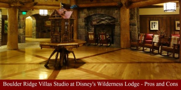 Boulder Ridge Villas Studio Wilderness Lodge