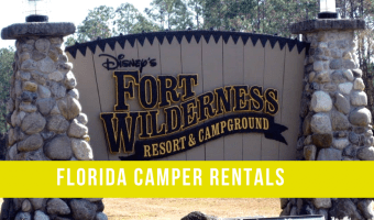 Camping at Disney's Fort Wilderness Resort & Campground with Help From Florida Camper Rental