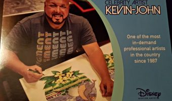 3 Hours with Disney Master Artist Kevin-John
