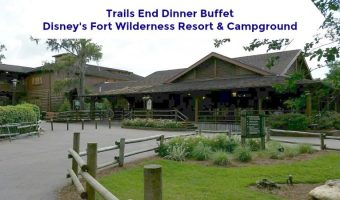 Happy Trails! Dinner at Trail's End Restaurant at Disney's Fort Wilderness