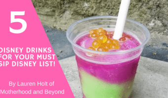 5 Disney Drink Additions For Your Must-Sip Disney List