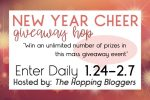 It's a New Year Cheer Giveaway Hop!