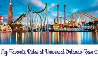 My Favorite Rides at Universal Orlando Resort