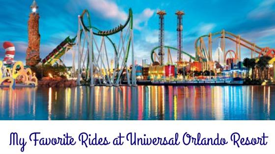 Universal Orlando Favorite Rides