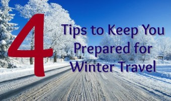 4 Tips to Keep You Prepared for Winter Travel