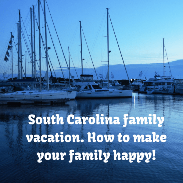 South Carolina Family Vacation