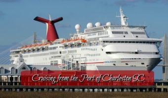 Cruising from the Port of Charleston South Carolina