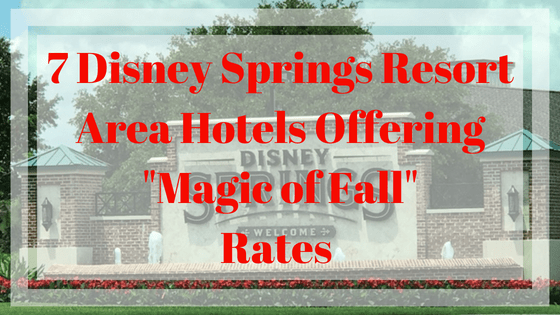 disney springs resorts rates