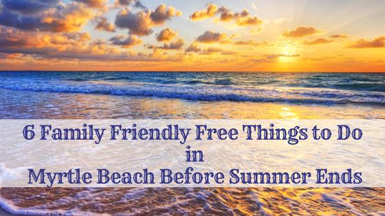 family friendly free myrtle beach