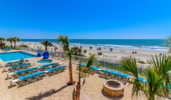 Want an Oceanfront Escape? Head to the Holiday Inn Oceanfront in Surfside Beach, SC