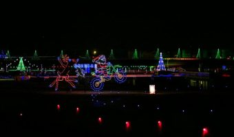 Be Sure to Visit Charlotte Motor Speedway's Christmas Light Show
