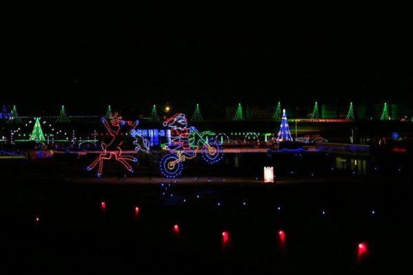 Charlotte Motor Speedway Christmas Lights