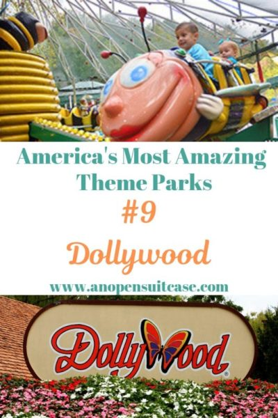 Amazing Theme Parks Dollywood : An Open Suitcase