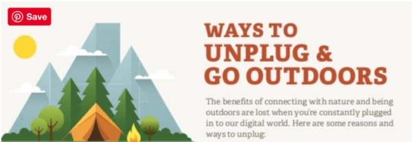Unplug get outside