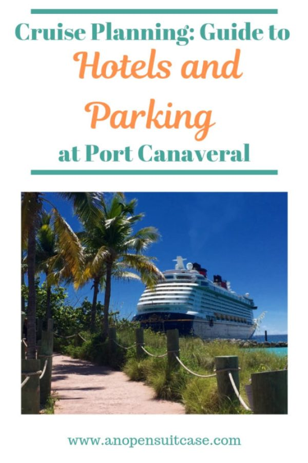port canaveral hotels parking
