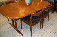 D-Scan SOLID Teak Dining Room Table & 4 Chairs | An Orange ...
