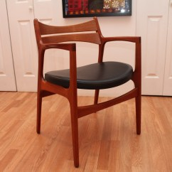 Erik Buck Chairs Ethan Allen Rocking Chair Johannes Aasbjerg Dining Table And 6