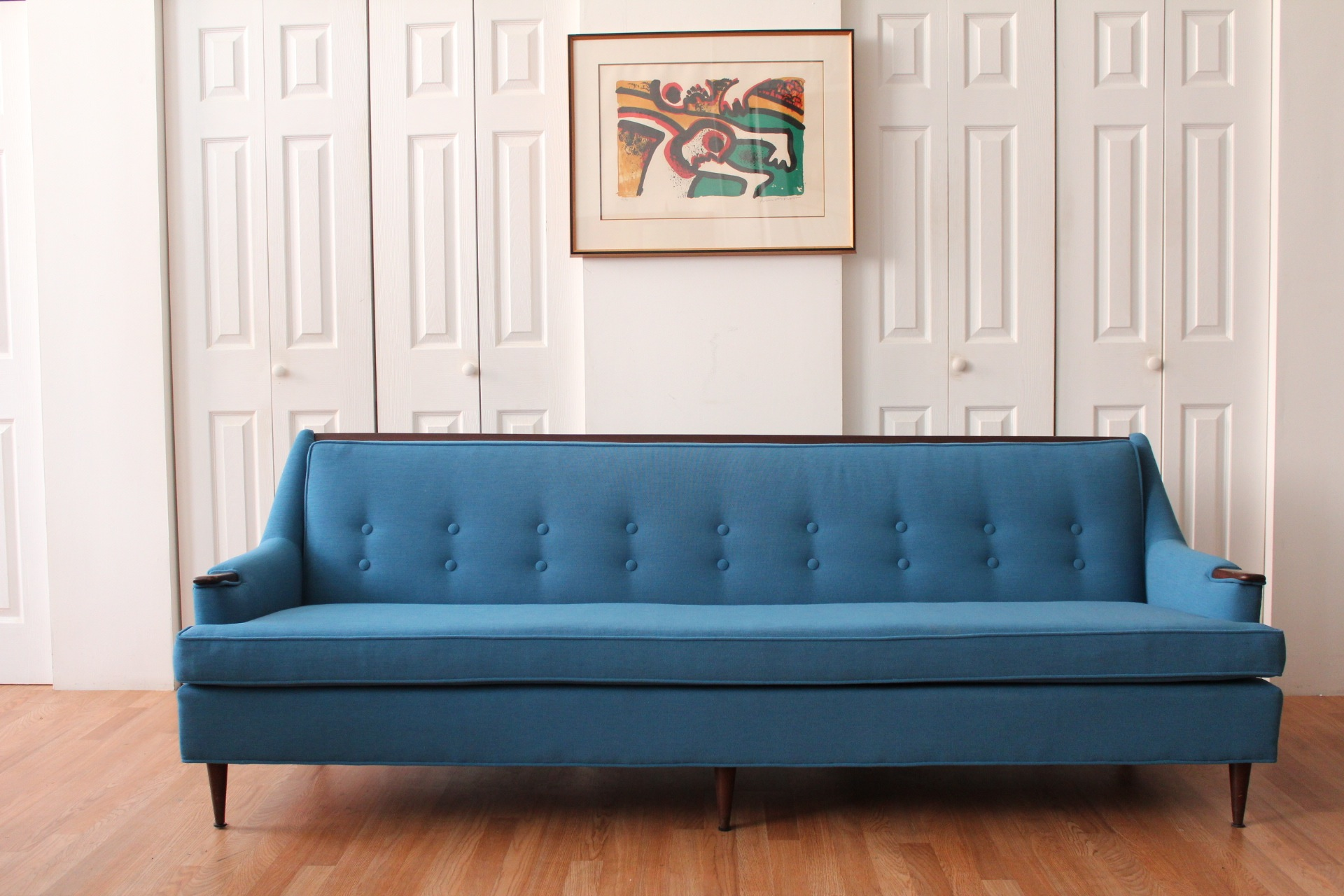 Copenhagen Blue Danish Sofa