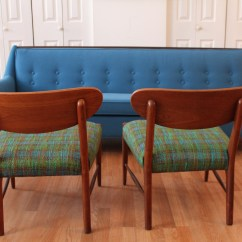 Blue Green Chair Chairs For Boys Adrian Pearsall Vintage Quottrue Plaid Quot