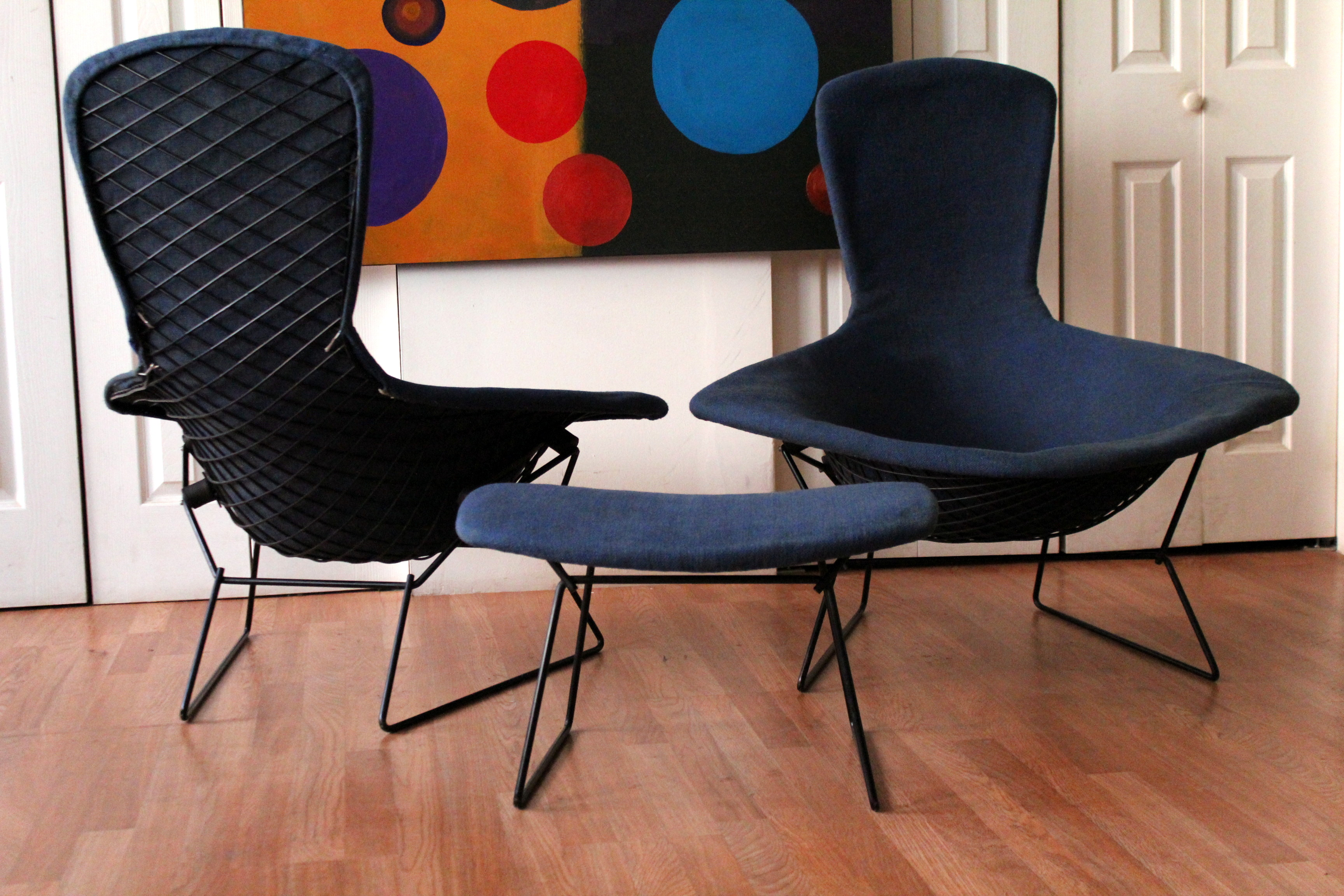 Bird Chair Authentic Vintage Harry Bertoia Knoll Bird Chairs And