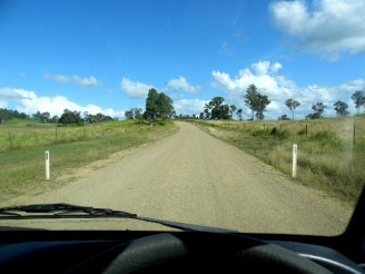 Gravel road, Queensland, Australia